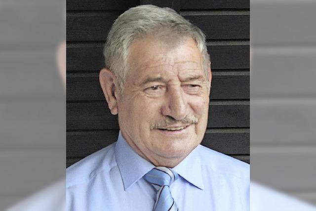 Dieter Lösch bekommt das Bundesverdienstkreuz