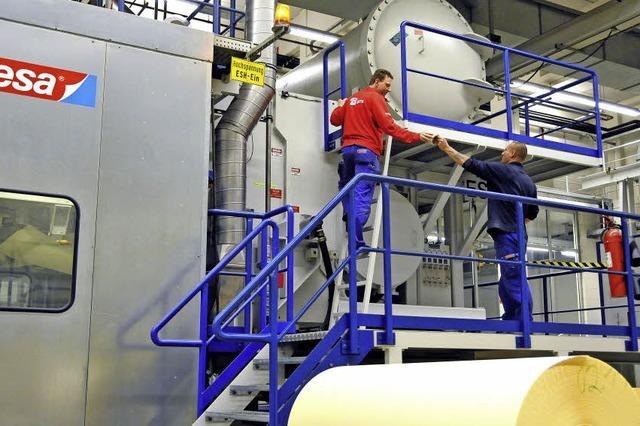 Acht Millionen Euro für das Tesa-Werk Offenburg