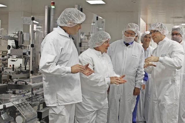 Novartis investiert 21 Millionen Euro in Wehr
