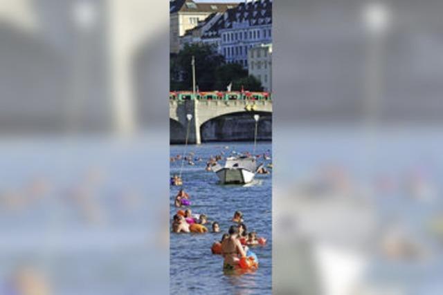 Ertrunken im Rhein in Basel