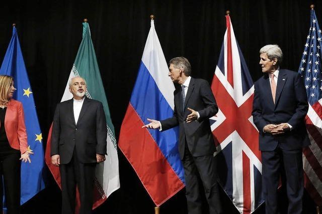Viel Lob für Atom-Einigung