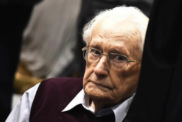 Früherer SS-Mann Gröning zu vier Jahren verurteilt