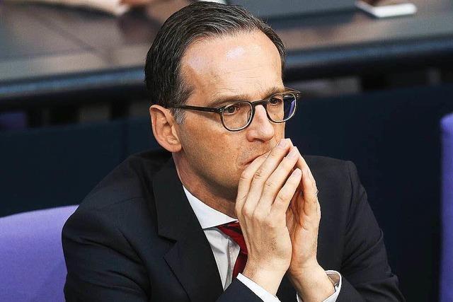 Veranstaltung mit Justizminister Heiko Maas fällt aus