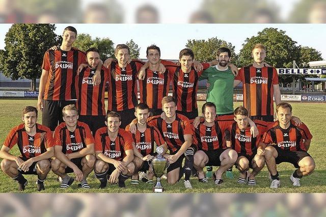 FC Weisweil holt Rheincup