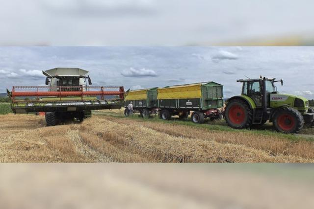 Für die Getreideernte