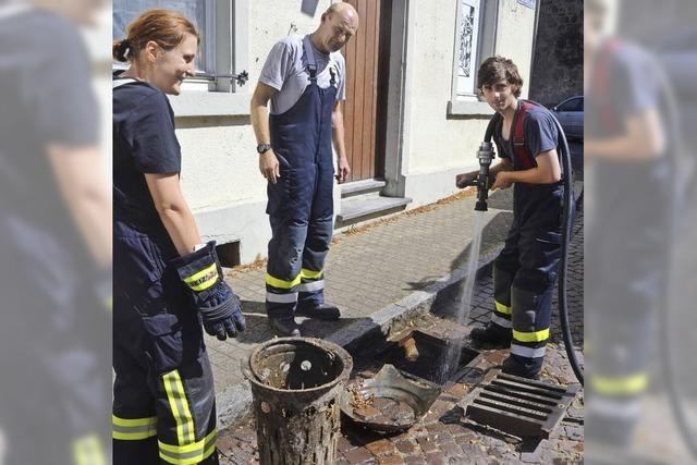Die Feuerwehr im Stress
