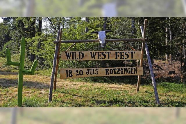 Förderverein macht Wild-West-Party