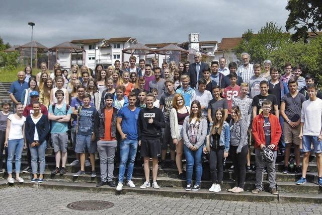 91 Schüler haben den Abschluss