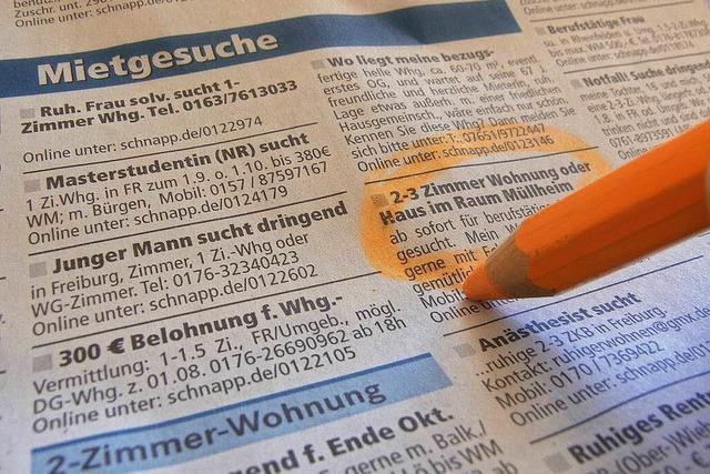 Sozialverbände in Müllheim schlagen wegen Wohnungsnot Alarm