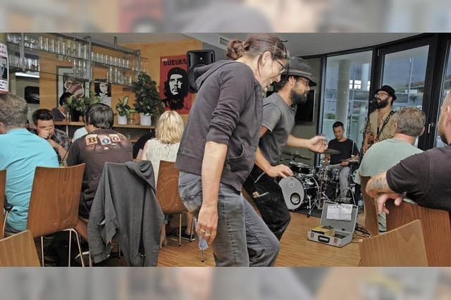 Blues, Country und Jazz im Café