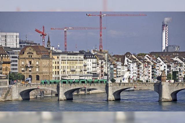 Basels Bevölkerung wächst weiter
