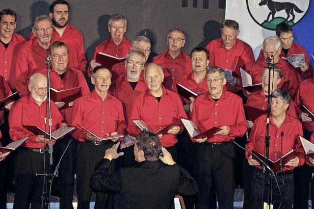 Zur Pflege des Gesangs gegründet