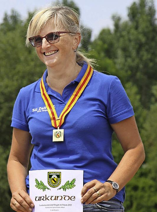 Landesmeisterin  der Damen-Altersklasse wurde Ute Rapp.   | Foto: ZVG