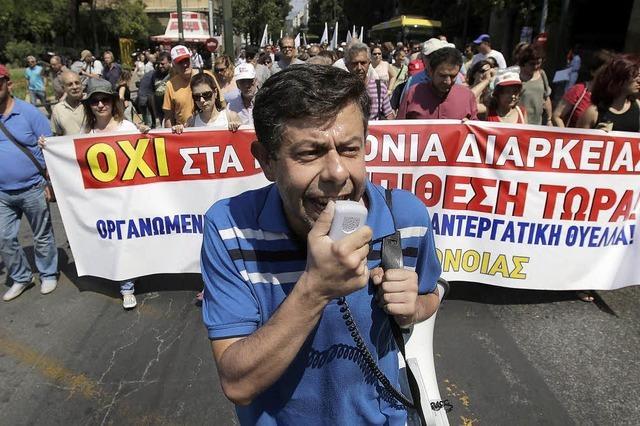 Szenen eines Niedergangs in Griechenland