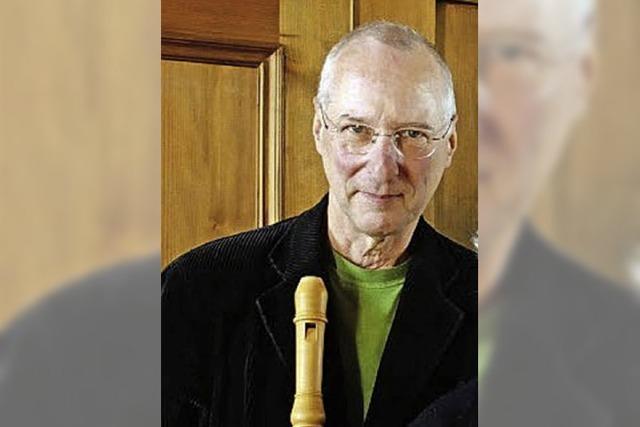 Alte-Musik-Projekte der Musikschule Südschwarzwald unter Leitung von Albrecht Barth im Tiengener Schloss