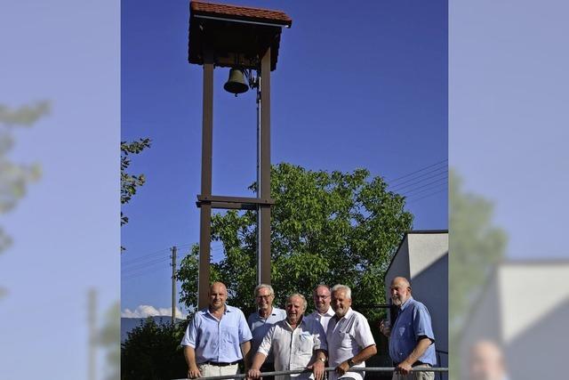 Auch die Glocke bleibt im Dorf
