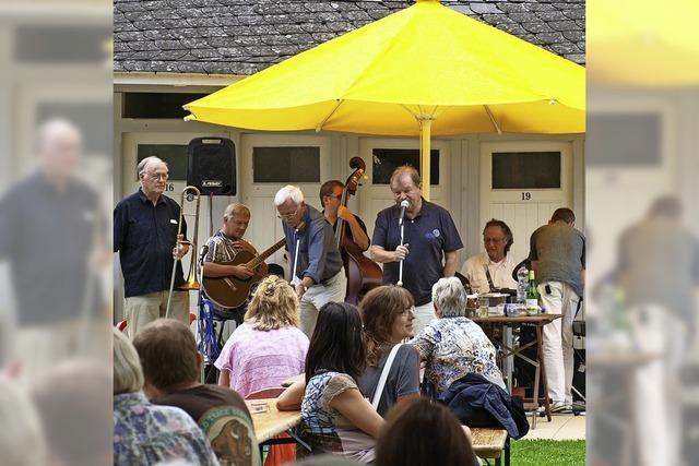 Albert-Louis-Jazzband spielt im Lorettobad Freiburg