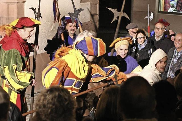 Open-Air-Theater in der Endinger Altstadt