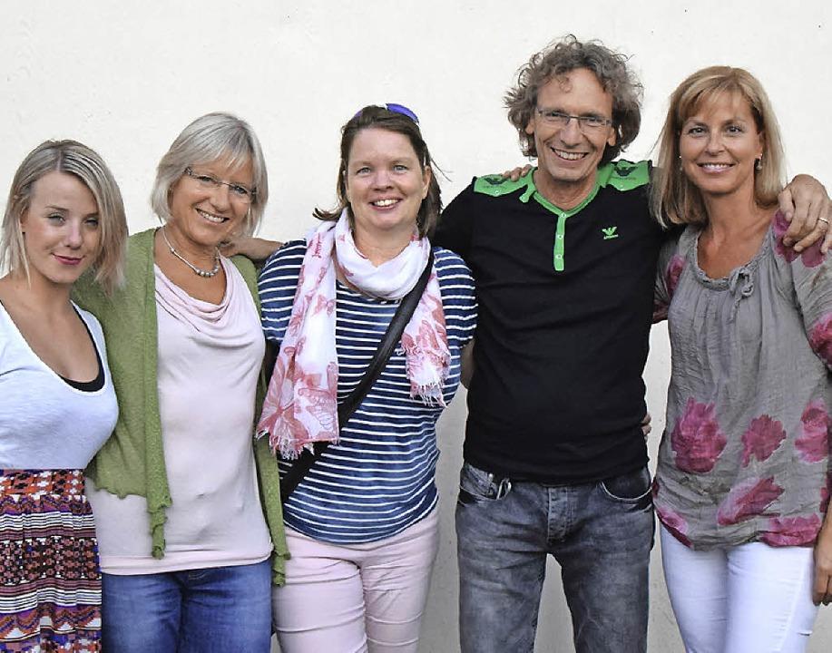 Die treibende Kräfte des Projektes: Ka...omas Vogt, Simone Chambers (von links)  | Foto: Sarah Nöltner
