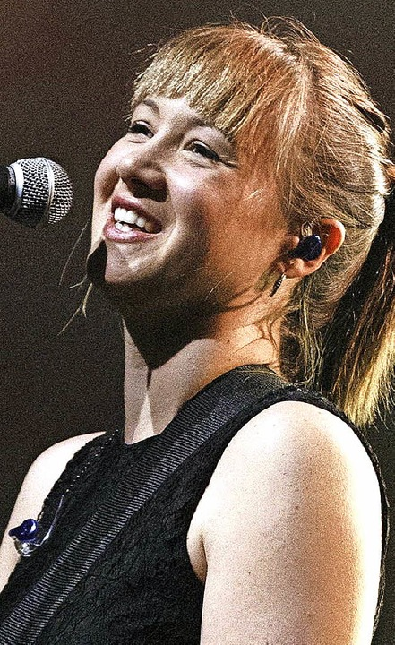 Sophie Hunger diese Woche in Montreux    Foto: dpa