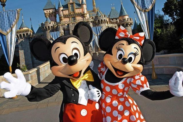 Disneyland in Kalifornien feiert sein diamantenes Jubiläum