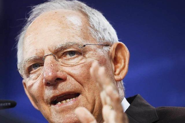 Schäuble wirbt noch einmal für den Grexit