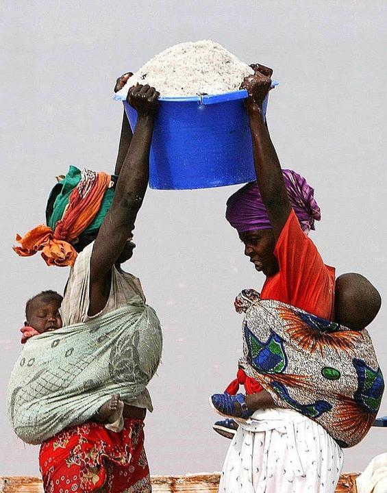 Mehr Steuergeld für die Entwicklung wollen die UN-Mitglieder.  | Foto: dpa