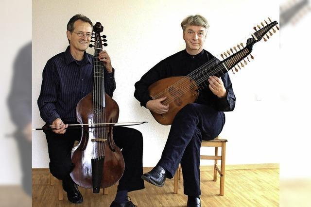 Christian Zimmermann und Ekkehard in Badenweiler