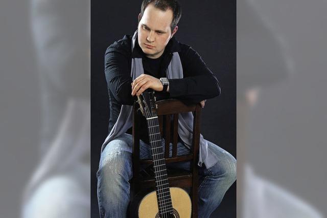Gitarrenmusik mit Tristan Angenendt