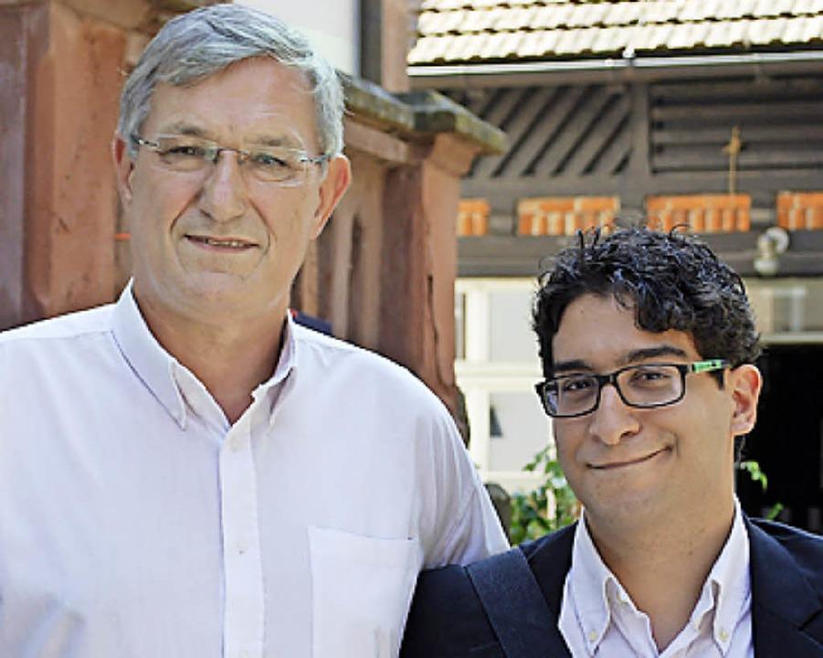 Bernd Riexinger (links) und Matteo Di Prima     Foto: Thomas Loisl Mink