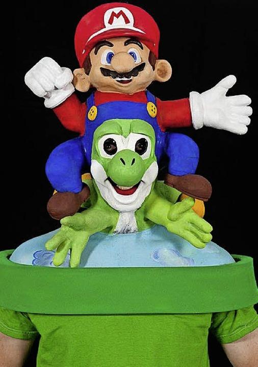 Pia Wehrles Super-Mario, mit dem sie Achte wurde.    | Foto: privat