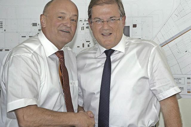 Schuster ist Chef des Gewerbeparks
