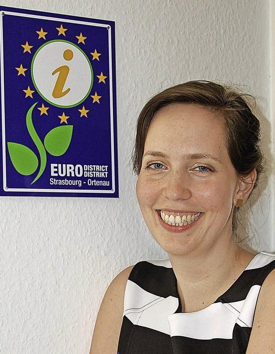 Neu im Amt: Generalsekretärin Anika Klaffke     Foto: hubert röderer