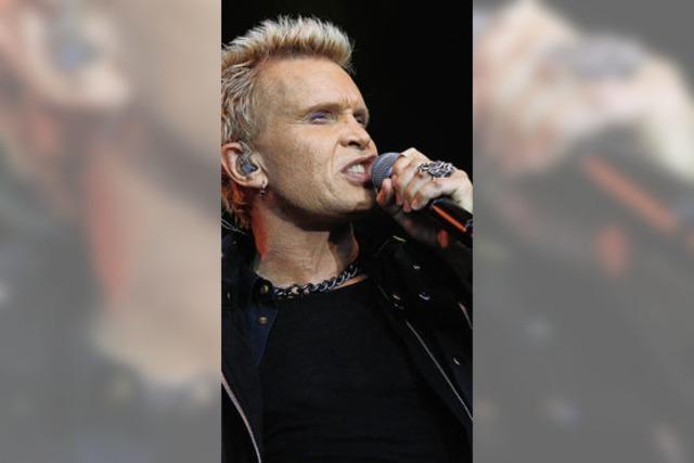 Billy Idol in Emmendingen: Ein Altstar von der traurigen Gestalt