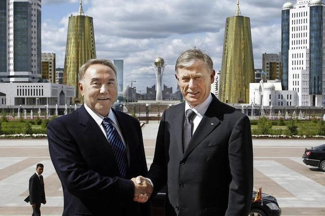 Kasachstan und seine teuren Freunde