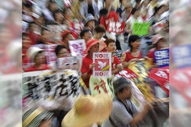 Japan bleibt friedlich