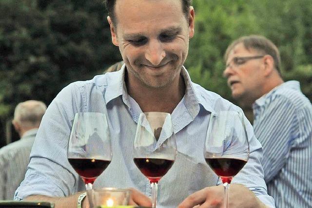 Weinparty mit Stil in Oberbergen