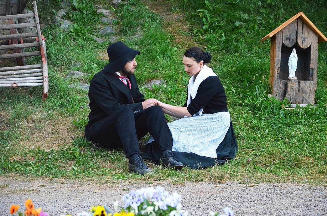 Anselm und Theresia können niht zueinander finden.  | Foto: Alexandra wehrle