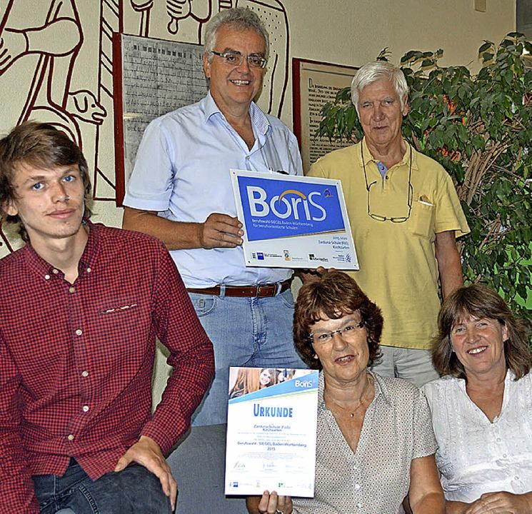 Sie freuen sich über die neue BoriS-Ze...er und Sabine Blattmann (von links).    | Foto: Lück