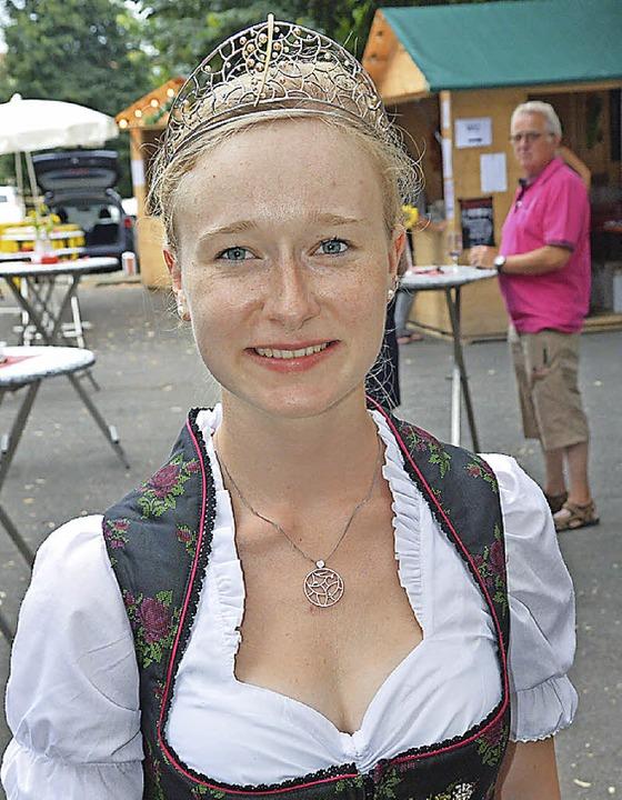 Zu Besuch war auch die Badische Weinkönigin Isabella Vetter.  | Foto: Heinz u. Monika Vollmar