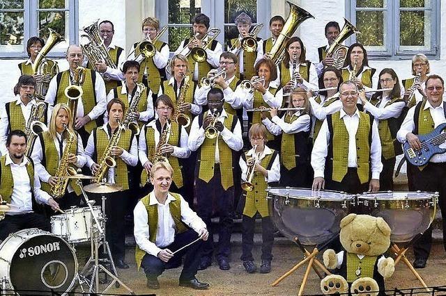 Blasorchester Itzehoe 1980 in Badenweiler und Müllheim