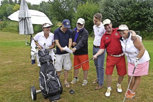 Golfen für einen guten Zweck