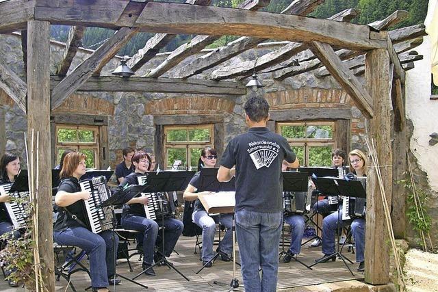 Open-Air-Konzert des Akkordeonclubs Simonswald