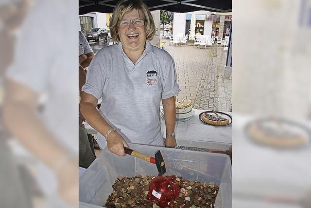Sparschweine bringen Geld für Granja El Ceibo