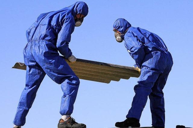 Asbest bleibt eine Gefahr