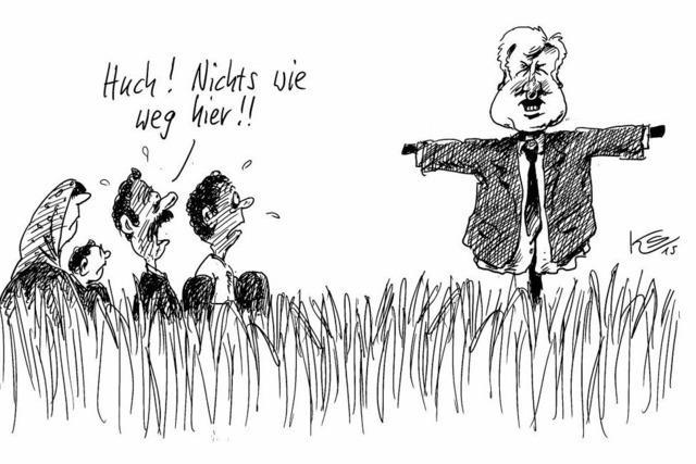Neue Abschreckungspolitik an Bayerns Grenzen...