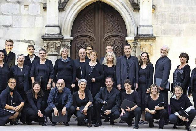 Psalmkonzert mit dem Vocalensemble Bad Säckingen in Bad Säckingen und Münstertal