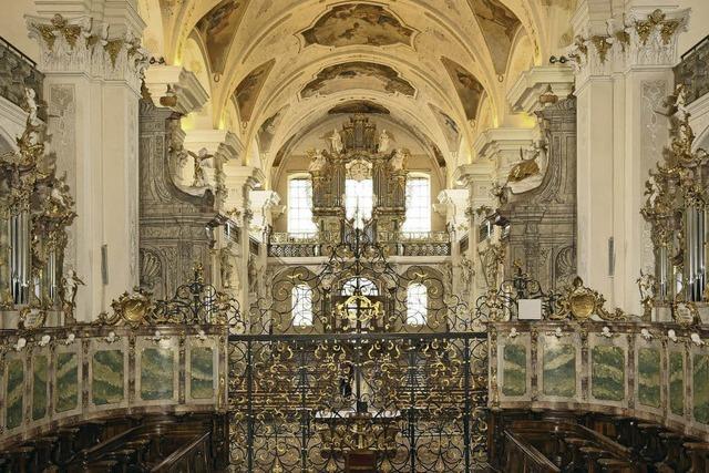 Musik für Posaune und Orgel in der Barockkirche in St. Peter