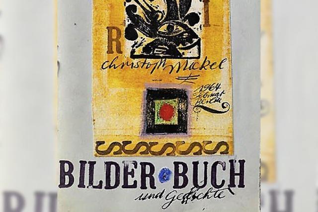 Arbeiten von Christoph Meckel im Freiburger Kunstraum Bürkle