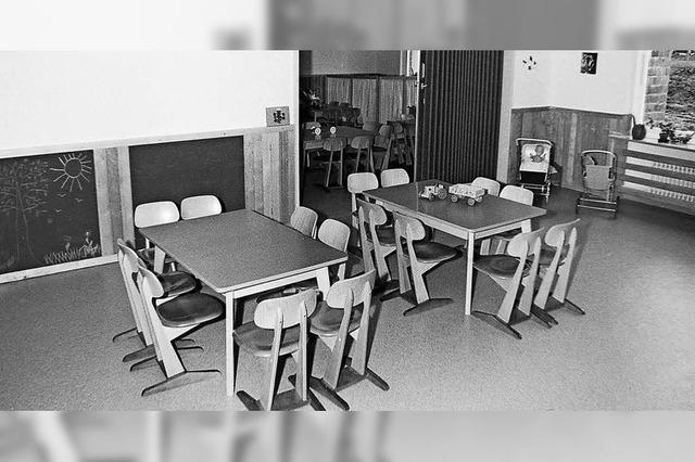 Kinderbetreuung im Altenheim, Unterricht im Keller